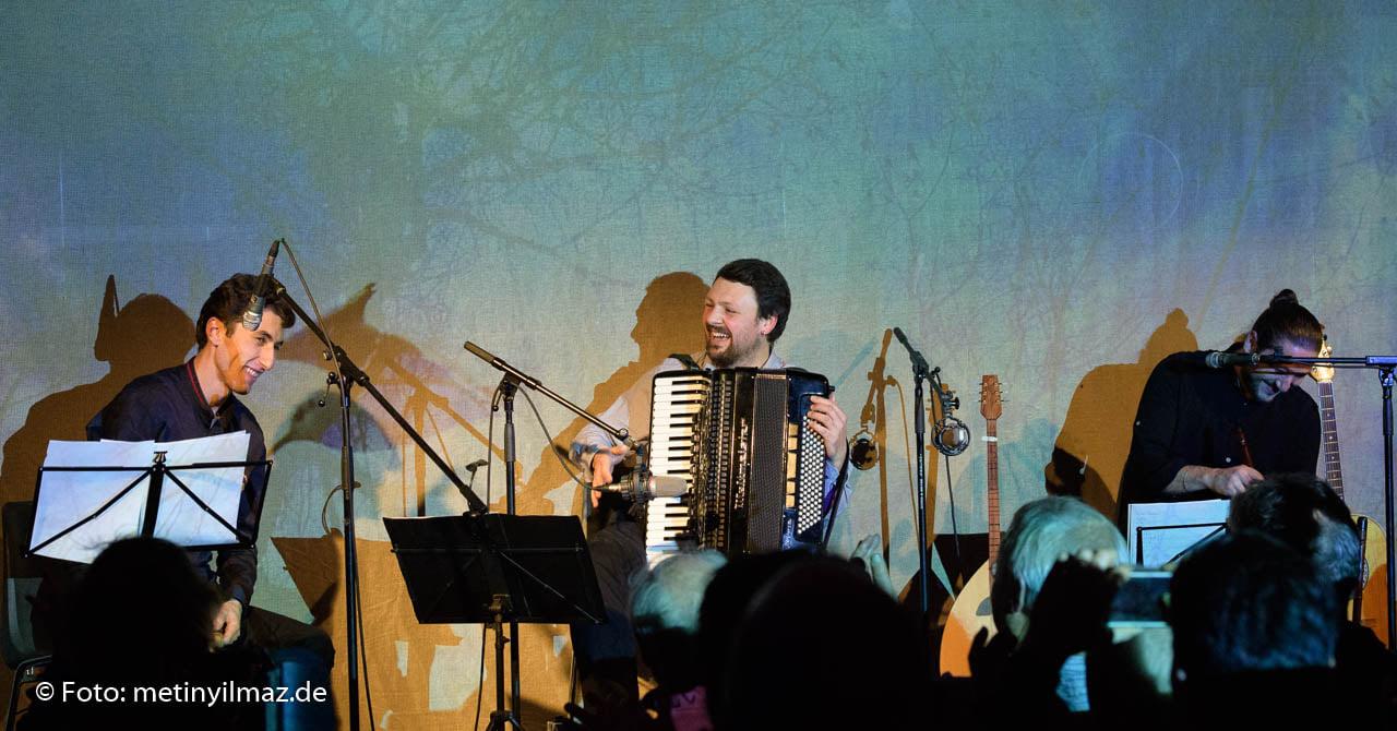 A.G.A Trio Live, concert at Kulturbrauerei Berlin on 21.11.2019